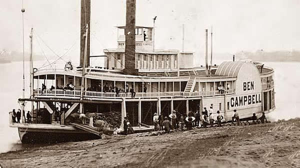 Playing poker on the Mississippi riverboats